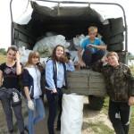 на акции чистый берег Волги в Разнежье