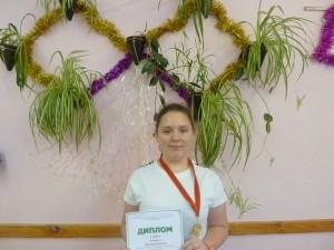 Муштакова Ксения-победитель